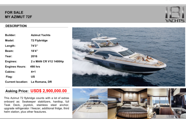 Azimut Fly 72 – Knot Enough